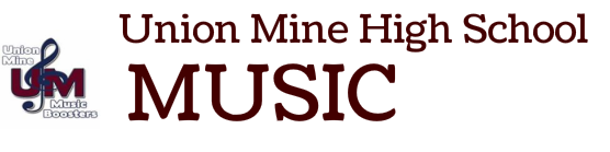 Union Mine High School Music
